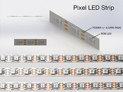 3D Design Image of Pixel LED Image